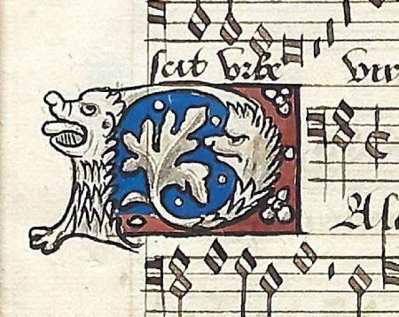 Decoration from Anne Boleyn's music book.