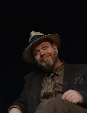 Todd Van Voris as Erie in Imago's 'Hughie.'