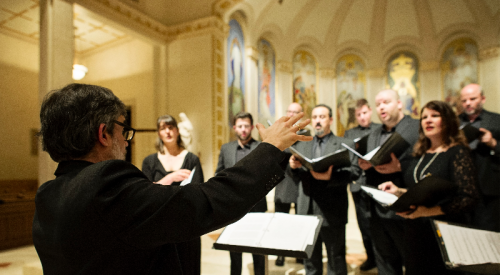 Cappella Romana: the ancient and the new.