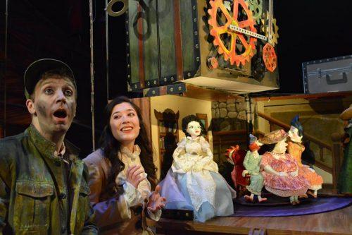 """""""La Belle: Lost in the Automaton."""" Imago Theatre photo."""