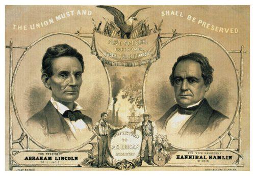 lincoln-hamlin-campaign-poster