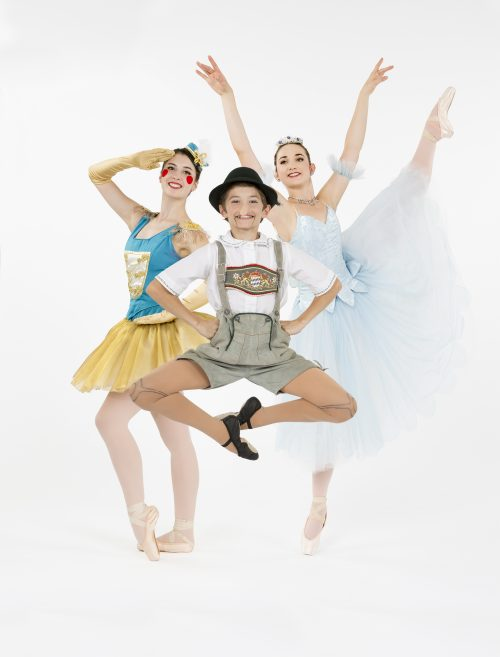 "Kerridwyn Schanck, Andrew Davis, Lauren Kness in ""Toyshop."" Photo: Blaine Truitt Covert"
