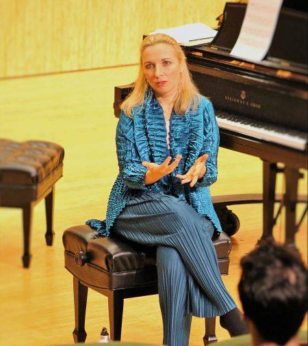 Tamara Stefanovich. Photo: Rich Brase.