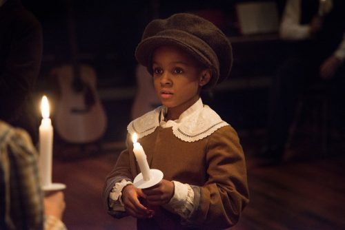 """A light in the darkness: Portland Playhouse's """"A Christmas Carol."""" Photo: Brud Giles"""