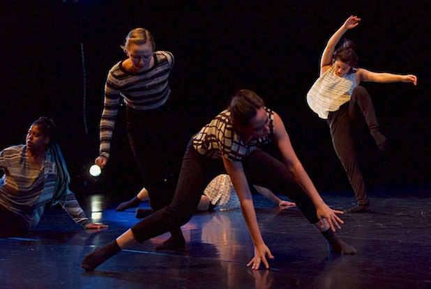 """Shannon Mockli and Suzanne Haag collaborated on """"Between Your Eyes and You"""" Photo courtesy of UO School of Music and Dance"""