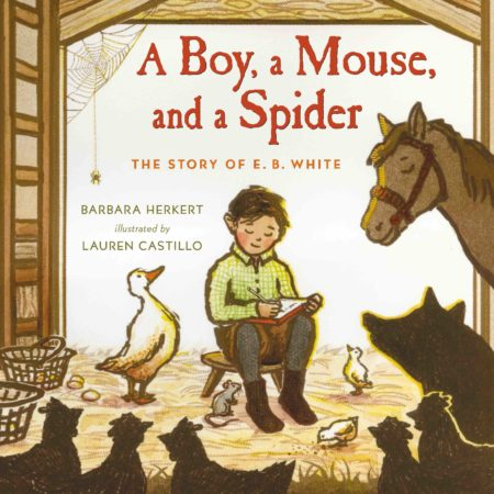 """Herkert's latest book is """"the story of a shy boy who loved animals and became one of the most beloved children's authors of all time."""""""