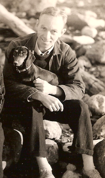 """E.B. White found subject matter for his essays in the recalcitrant dachshunds he owned. """"I would rather train a striped zebra to balance an Indian club,"""" he wrote, """"than induce a Dachshund to heed my slightest command."""""""