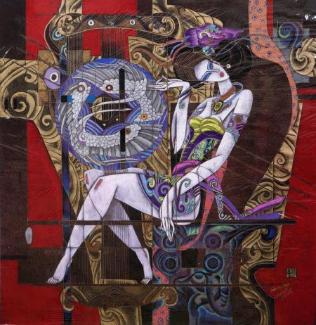 """Jiang Defang's """"Golden Harp"""""""