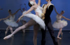 """Dancers Maggie Rupp and Peter Deffebach perform a pas de deux from """"Swan Lake,"""" one of several pieces that Portland Ballet dancers will perform Friday in the Chehalem Cultural Center in Newberg. Photo by: Blaine Truitt Covert"""