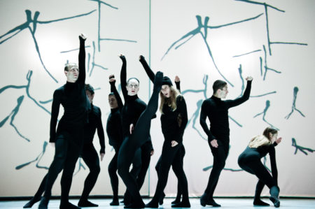 """Compagnie Marie Chouinard performs """"Henri Michaux: Mouvements."""" Photo courtesy of White Bird."""