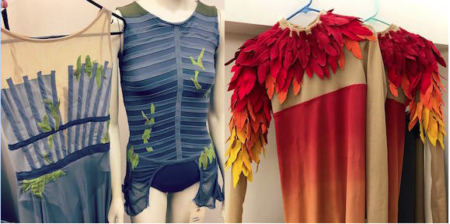 Firebird costume design by S-Curve Apparel & Design. Photo courtesy of Suzanne Haag