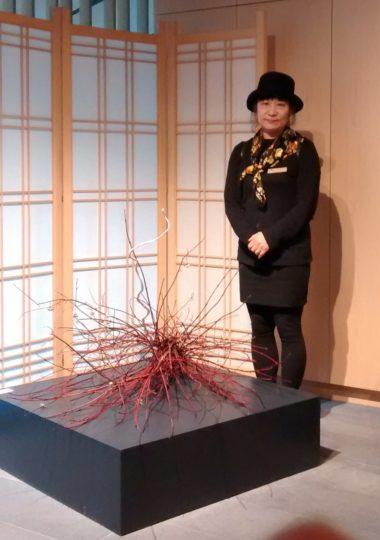 Japanese ikebana artist Nana Goto Bellerud will demonstrate her work May 9-11 in the Chehalem Cultural Center in Newberg.