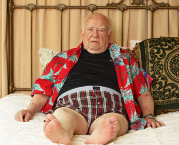 "It's not all Supreme Being for Asner.  He is also traveling the country with a one-man show, ""A Man and his Prostate."""