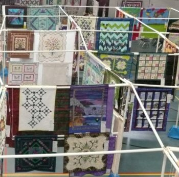 Quilts of many colors and designs will fill the Newport Recreation Center during the Quilts by the Sea show Aug. 2 and 3.