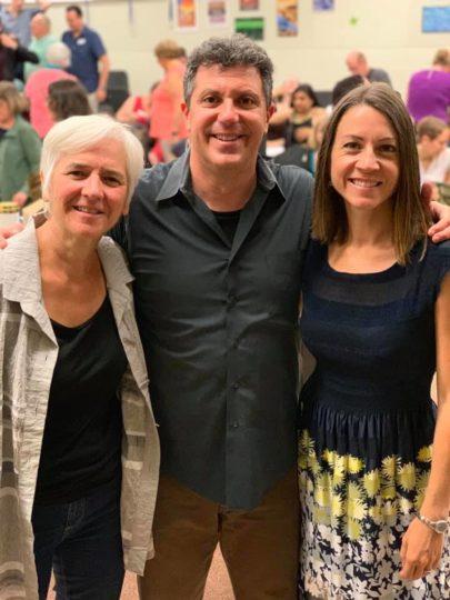 Joan Szymko, Ethan Sperry, Naomi LaViolette. Photo by Paige Baker.