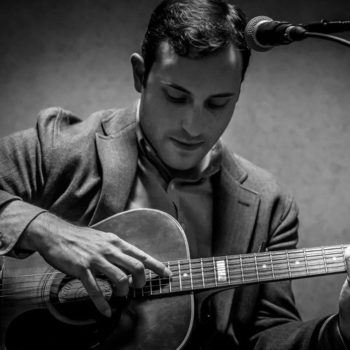 Fingerstyle guitarist Brooks Robertson will perform and lead workshops during the Fire Mountain Music festival.