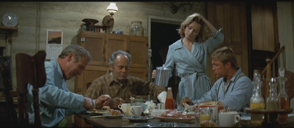"The cast of 1971's ""Sometimes a Great Notion,"" based on Ken Kesey's novel, included (from left) Paul Newman, Henry Fonda, Lee Remick and Richard Jaeckel as members of the Stampher family. It plays Oct. 25 during the Oregon-Made Film Festival."