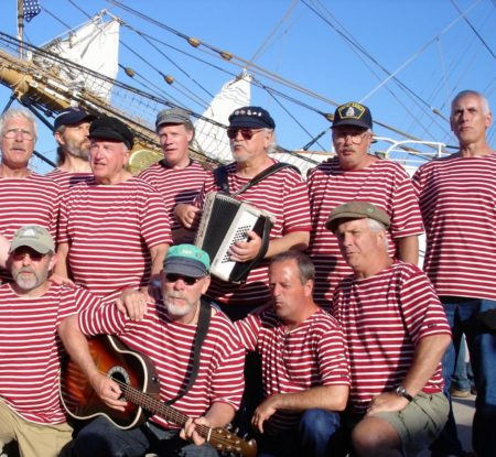 The Shifty Sailors will perform Oct. 11 in a fundraiser for Newport's Pacific Maritime Heritage Center.