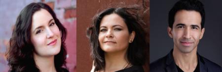 Vocalists Gomez, Duarte & Moras. Photo courtesy of Anima Mundi Productions.