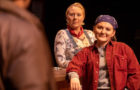 """Nicole Tigner (left) plays Jessie and Elise Martin plays Tracey in a scene from Lynn Nottage's Pulitzer Prize-winning """"Sweat,"""" which continues its run at Linfield College Theater in McMinnville 7 p.m. Thursday through Saturday. Photo courtesy: Linfield College Theatre"""